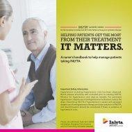 Download the INLYTA Nurse Handbook - PfizerPro