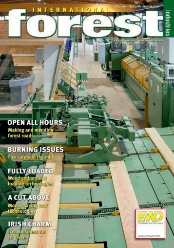 Issue 20 - February/March 2011 - International Forest Industries (IFI)