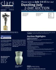 FREE - Clars Auction Gallery