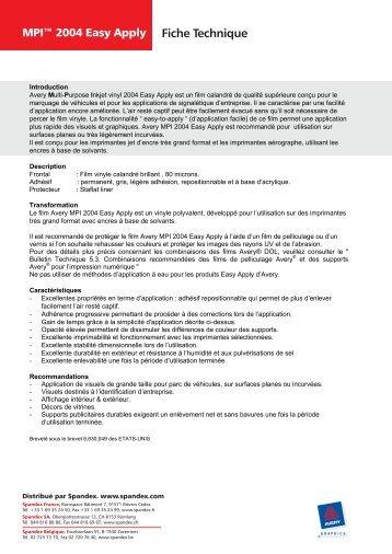 AveryR MPITM 2004 Easy Apply