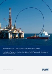 Offshore Supply and Support Vessels – World Wide 2017