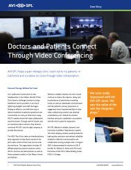 Download the HELP Pain Medical Network Case Study PDF - AVI-SPL