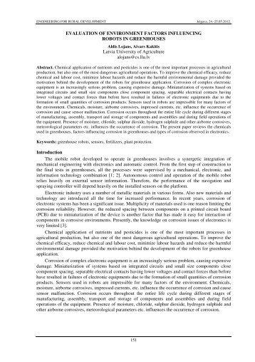 Aldis Lojans, Aivars Kakitis Latvia University of Agriculture ...
