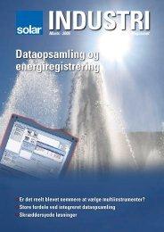 Dataopsamling og energiregistrering - Solar Danmark A/S