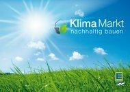 KlimaMarkt – nachhaltig bauen - Nachhaltigkeit