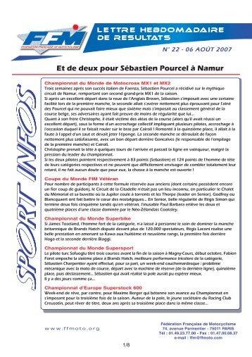 sport infos 22.qxd - Moto Station
