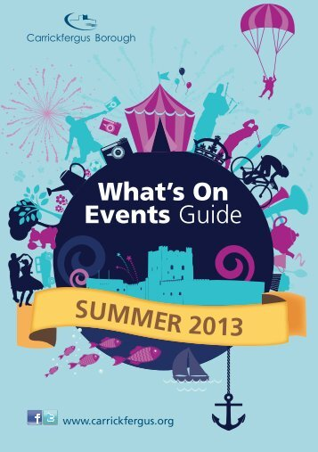 Summer Events Guide 2013 - Carrickfergus Borough Council