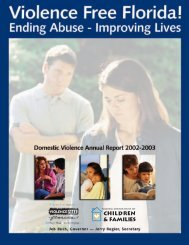2002-2003 - Florida Department of Children and Families