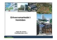 Erhvervsmarkedet i fremtiden - Fremtidsforskeren Jesper Bo Jensen