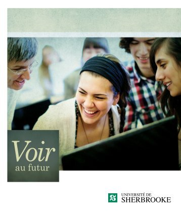 Brochure institutionnelle - Université de Sherbrooke