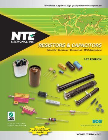 CONTENTS RESISTORS Surface Mount (SMT) - NTE Electronics