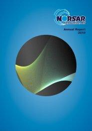 Annual Report 2010 - norsar