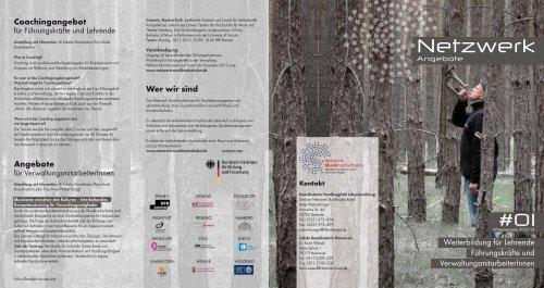 Netzwerk-Angebote #01, WS 2013/14 - Hochschule für Musik ...