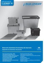 Réservoirs aluminium / Accessoires de réservoirs ... - RAJA-Lovejoy
