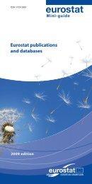 Eurostat publications and databases - Eurostat - Europa