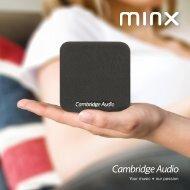 2012 Minx brochure - Cambridge Audio