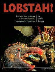 Lobstah! - New Hampshire Fish and Game Department