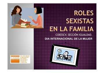 Presentacion Sexismo en la familia - Coeescv