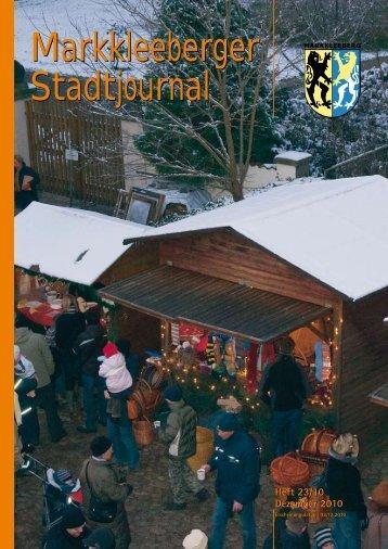 Heft 23/10 Dezember 2010 - Druckhaus Borna