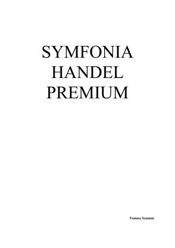 Symfonia Handel 1b