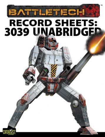 battletech technical readout 3085 pdf download