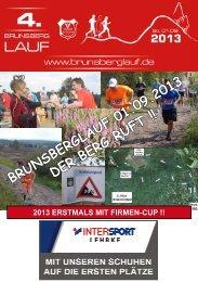 Flyer 2013 - Brunsberglauf