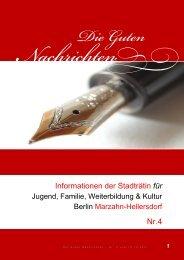 Nr. 4 vom 12.12.2011 - Die guten Nachrichten aus Marzahn ...