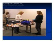 ACLS OB Provider & Instructor Course at Memorial Hospital in South ...