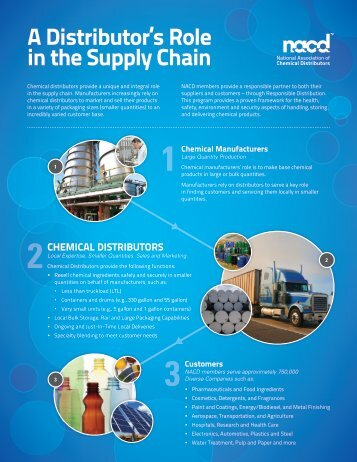 A Distributor's Role in the Supply Chain - NACD