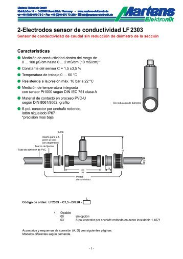 LF2303-00- Prospekt - Martens Elektronik GmbH