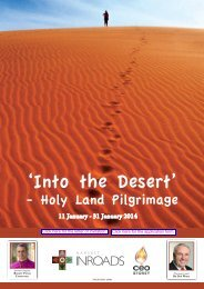 'Into the Desert' - Catholic Education Office Sydney
