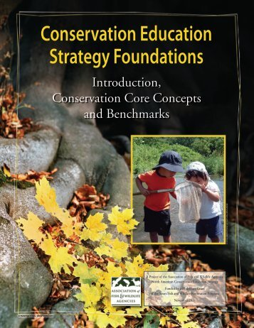Conservation Education Strategy Foundations - Association of Fish ...