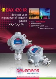 DAX 420-IR - Dalemans Gas Detection