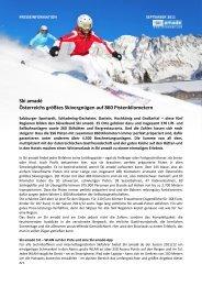 Presseinformation 2011/2012 allgemein - Ski amadé