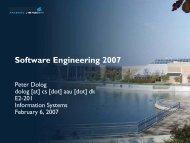 Software Engineering 2007