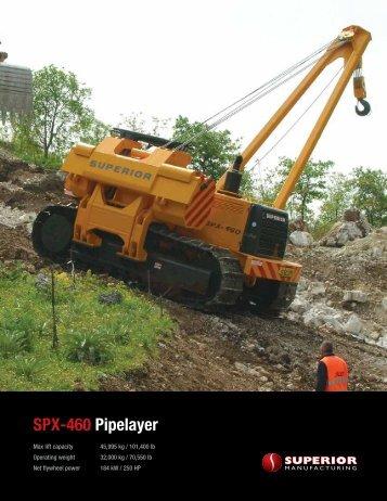 SPX-460 Pipelayer - Worldwide Machinery