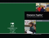 Champions Together Brochure
