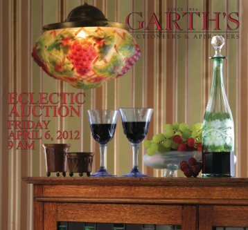 2012APRIL_ECLbrochure_Layout 1 - Garth's Auctions, Inc.