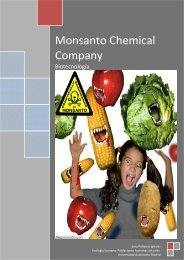 Monsanto Chemical Company - Somos Bacterias y Virus