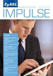 News Magazin für Fachhändler Winter   2011   2012 - Partner - ZyXEL