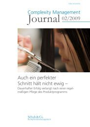CM-Journal 2-2009.indd - Schuh Group