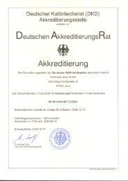 Deutscher Kalibrierdienst