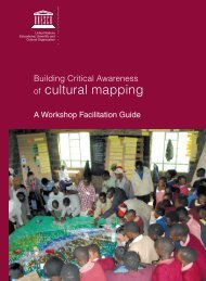 Building critical awareness of cultural mapping ... - unesdoc - Unesco