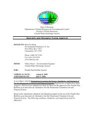 053106purafloapproval - Delaware Department of Natural ...