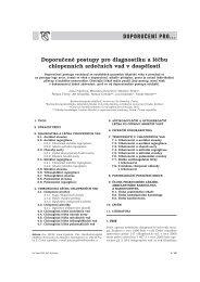 Doporučené postupy pro diagnostiku a léčbu chlopenních srdečních ...