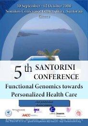 02 October 2010 Nomikos Conference Center, Thira, Santorini ...