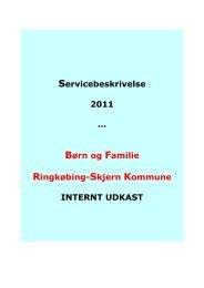 Servicebeskrivelse Børn og Familie 2011_0.pdf - Ringkøbing-Skjern ...