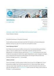 Infomail März - Bike to work