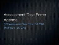 Meeting Agenda November 20, 2008
