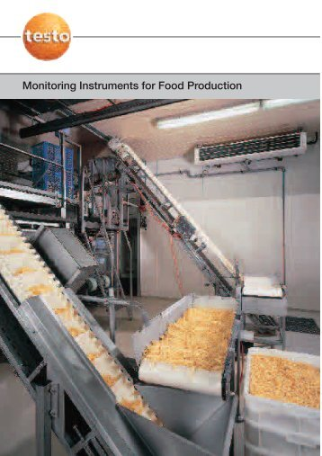 Monitoring Instruments for Food Production